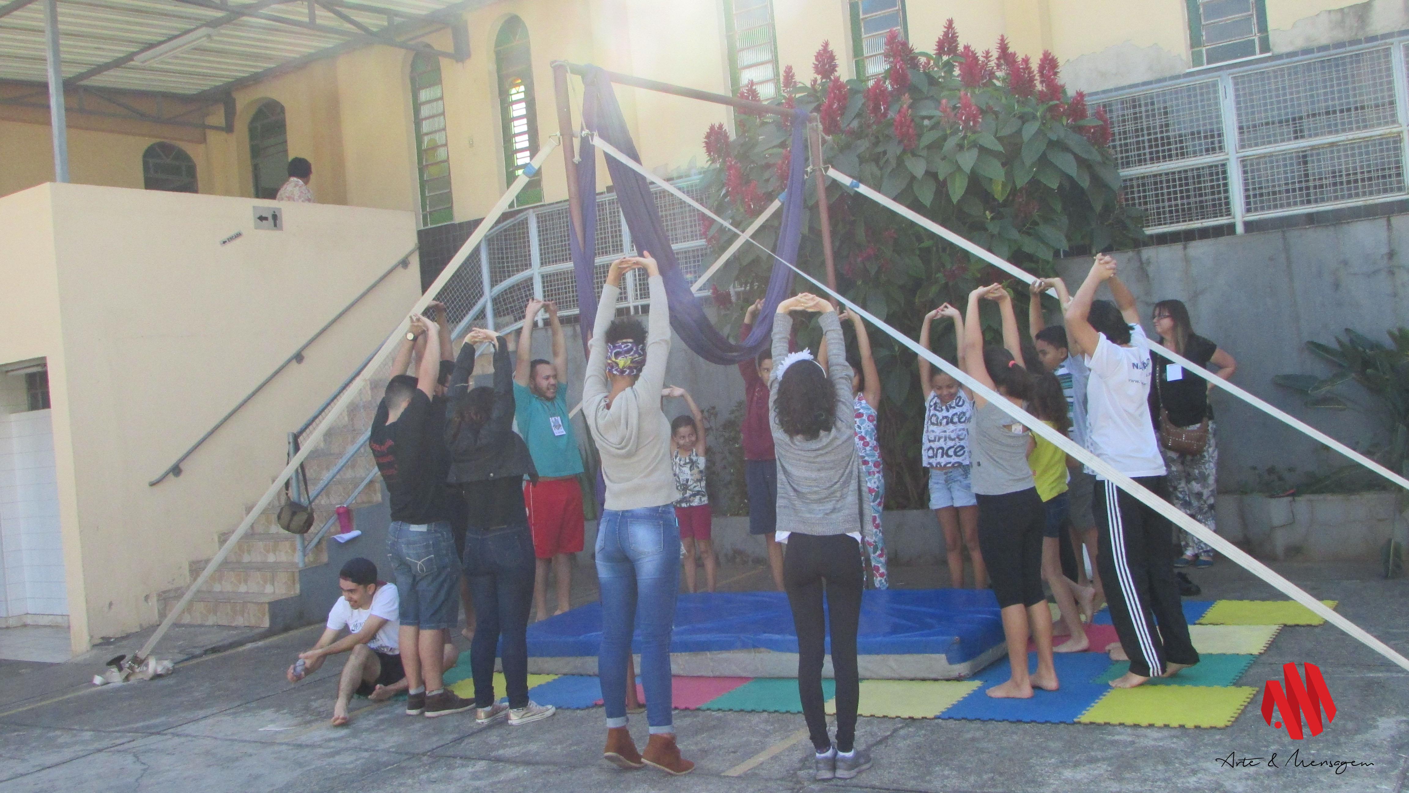 EBF 2016 – Metodista Inconfidentes – Workshop de Circo